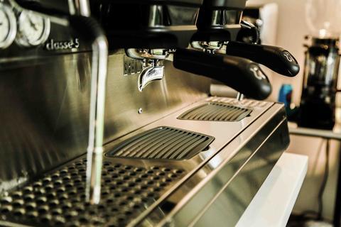 cần gạt giúp máy pha cà phê Rancilio Classe 5 usb 2 group sử dụng dễ dàng