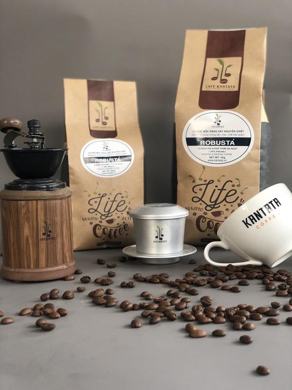 Cà phê Robusta Kantata